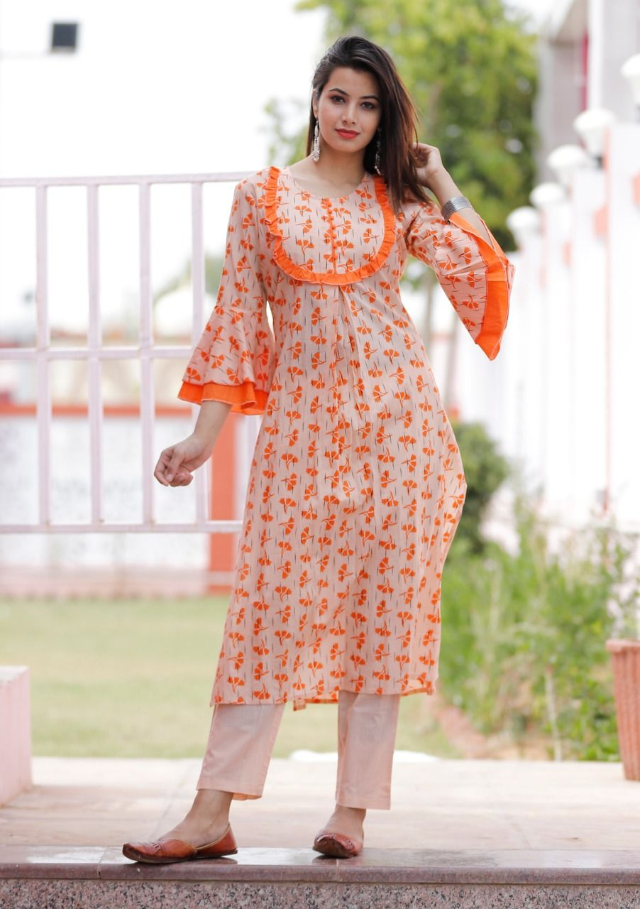 Trendy Cotton Salwar Kameez Sleeve Designs