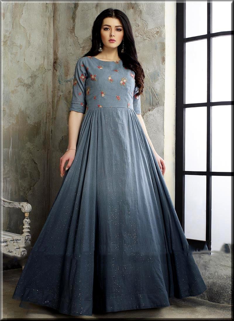 Unique Gown Design For Girls