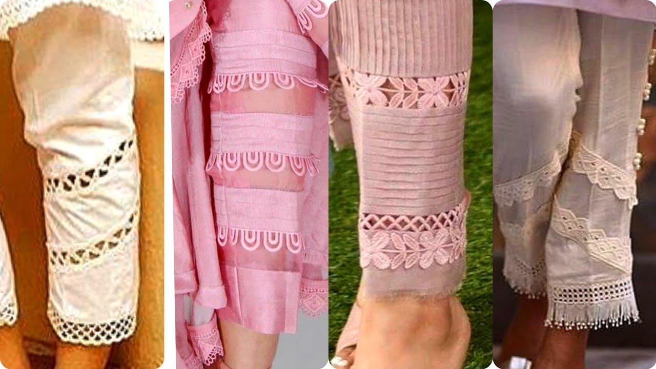 Unique Salwar Designs With Lace