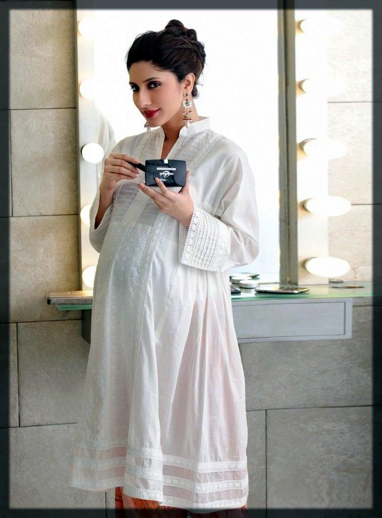 Unique and latest Salwar Kameez Designs For Pregnant Lady