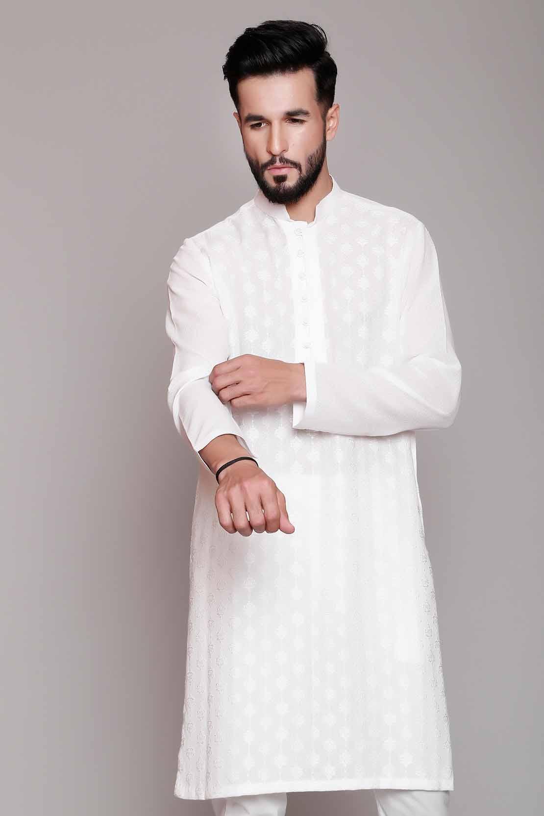 White cotton shalwar kameez designs 2021