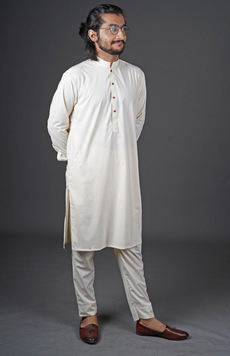 White cotton shalwar kameez designs for gents